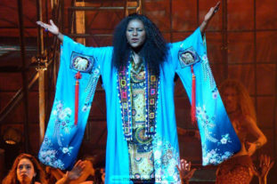 THEATHER_kimono azul